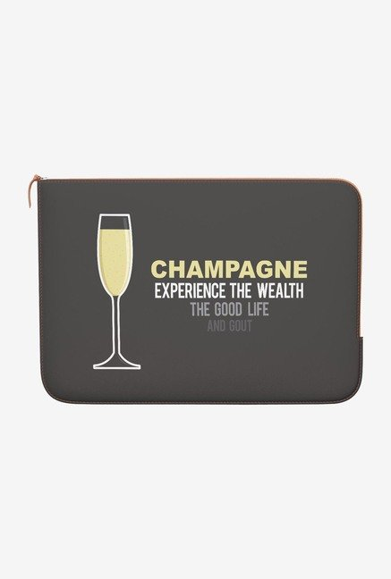 DailyObjects Champagne MacBook 12 Zippered Sleeve