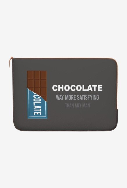 DailyObjects Chocolate MacBook Pro 13 Zippered Sleeve