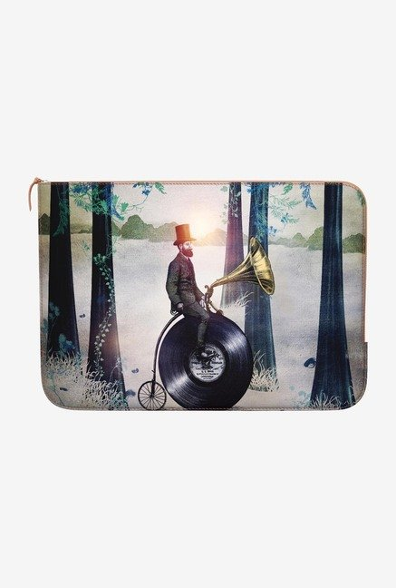 DailyObjects Man In Forest MacBook Air 11 Zippered Sleeve