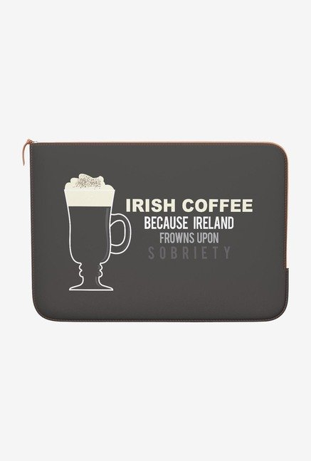 DailyObjects Irish Coffee MacBook Pro 15 Zippered Sleeve
