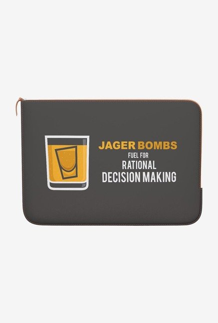 DailyObjects Jager MacBook Pro 15 Zippered Sleeve