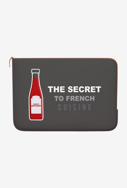 DailyObjects Ketchup MacBook 12 Zippered Sleeve