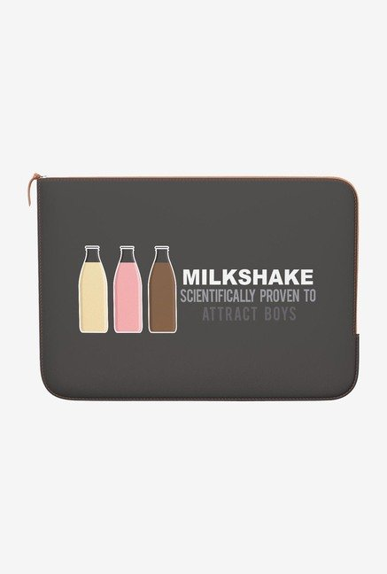 DailyObjects Milkshake MacBook 12 Zippered Sleeve
