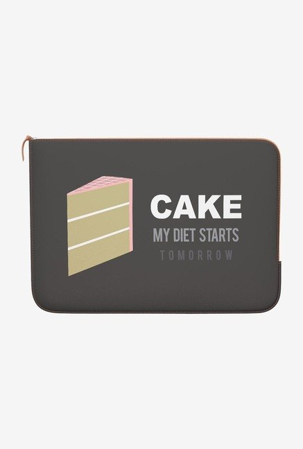 DailyObjects Cake MacBook Air 13 Zippered Sleeve