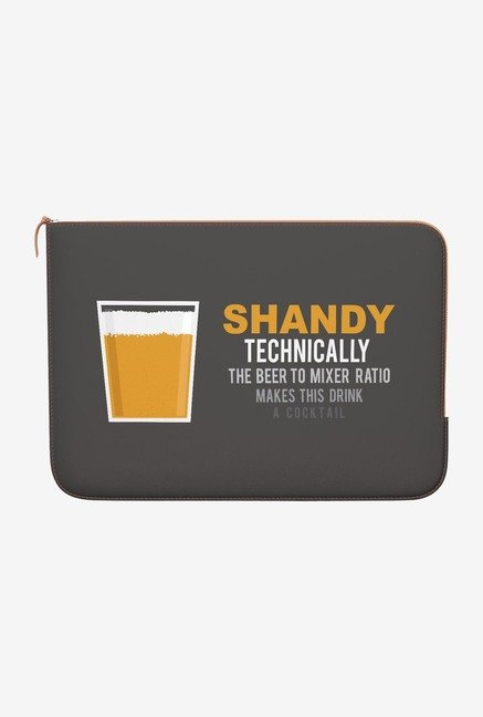 DailyObjects Lager Shandy MacBook Pro 15 Zippered Sleeve