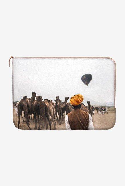DailyObjects Hot Air Balloon MacBook 12 Zippered Sleeve