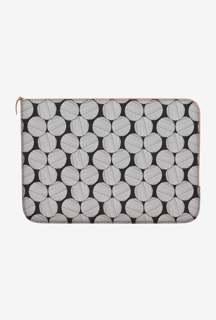 DailyObjects Lined Circles MacBook Pro 13 Zippered Sleeve
