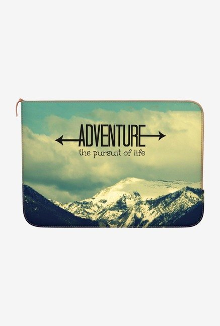 DailyObjects Pursuit of Life MacBook Air 13 Zippered Sleeve