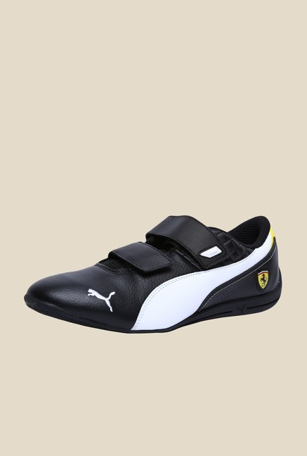 Puma Ferrari Drift Cat 6 AC SF Black & White Sneakers