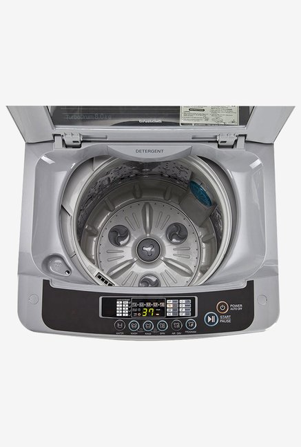 LG T7567TEELH 6.5Kg Fully-Automatic Washing Machine (Silver)