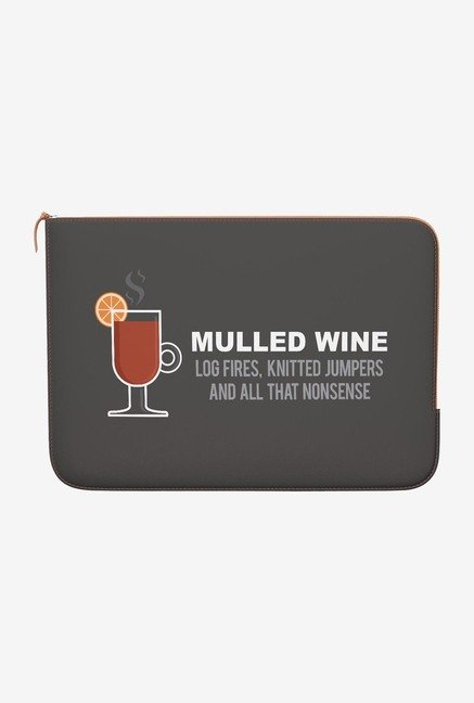 DailyObjects Mulled Wine MacBook Air 11 Zippered Sleeve