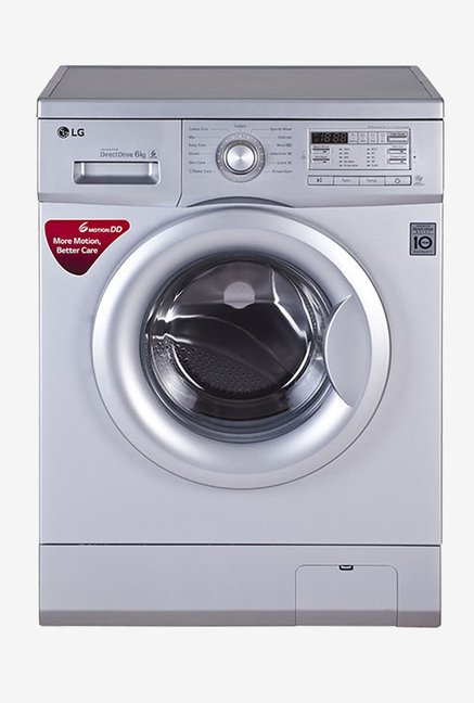 LG FH0B8NDL25 6KG Fully Automatic Washing Machine (Silver)