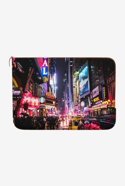DailyObjects New York Night MacBook 12 Zippered Sleeve