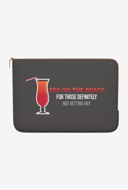 DailyObjects On The Beach MacBook Air 11 Zippered Sleeve