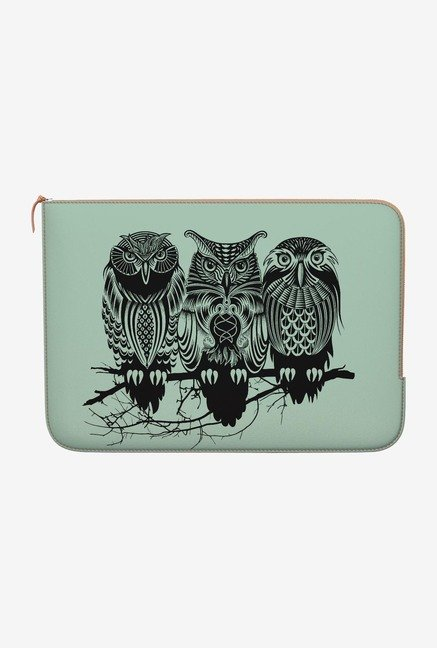 DailyObjects Owls of the Nile MacBook 12 Zippered Sleeve