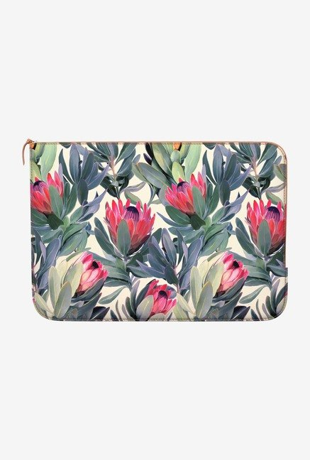 DailyObjects Painted Protea MacBook Pro 15 Zippered Sleeve