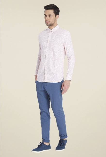 Jack & Jones Pink Printed Shirt