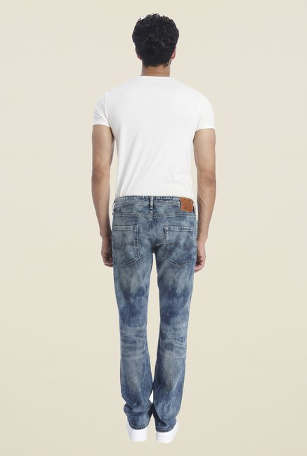 Jack & Jones Blue Lightly Washed Jeans
