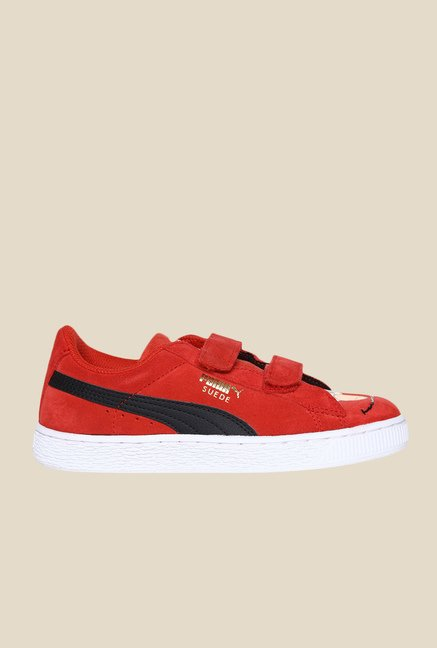 Puma Highrisk Red & Black Sneakers
