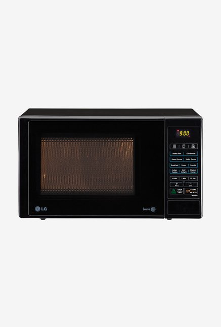 LG MH2344DB 23 L Grill Microwave Oven (Black)