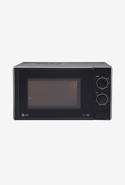 LG MS2025DB 20 L Solo Microwave Oven (Black)