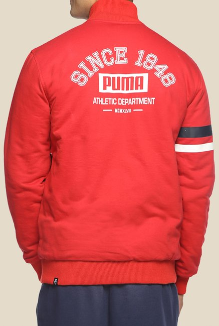 Puma Red Reversible Solid Jacket