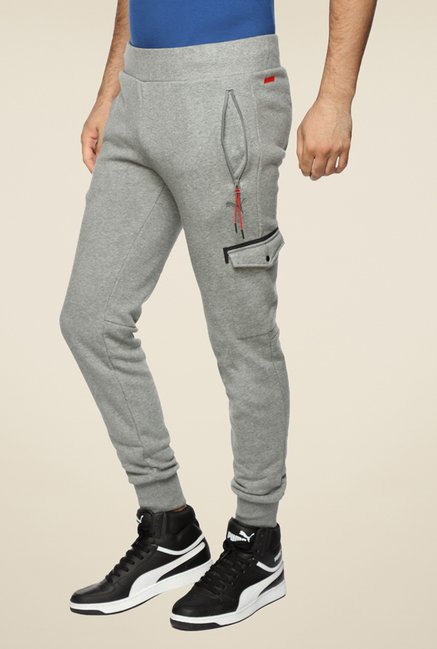 Puma Ferrari Grey Solid Trackpant