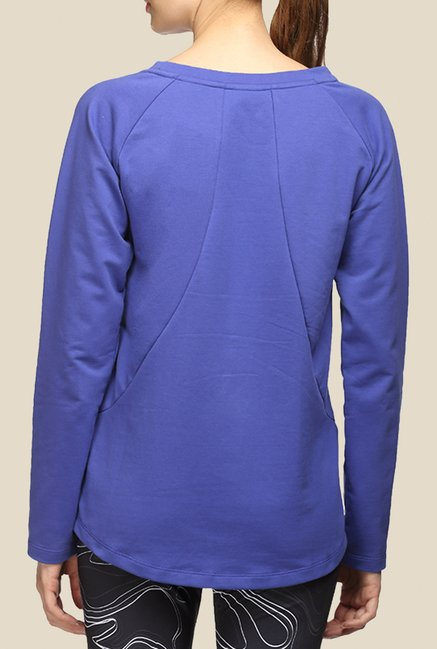 Puma Royal Blue Graphic Sweatshirt