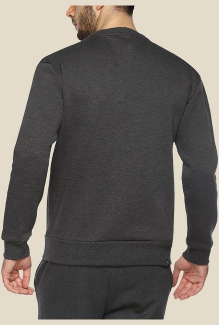 Puma Blaze 68 Grey Solid Sweatshirt