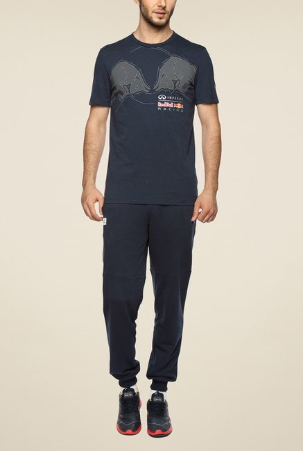 Puma RBR Navy Graphic T Shirt