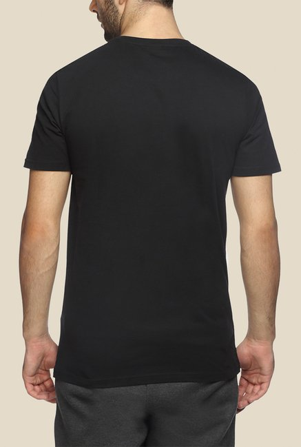 Puma Black Graphic T Shirt