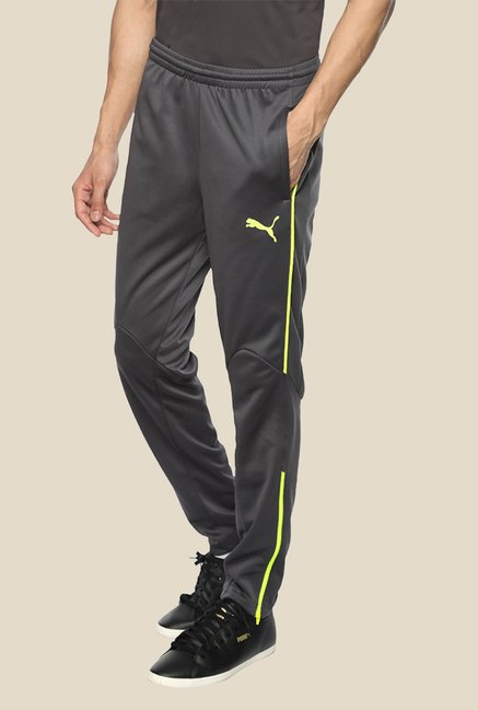 Puma Grey Striped Trackpant
