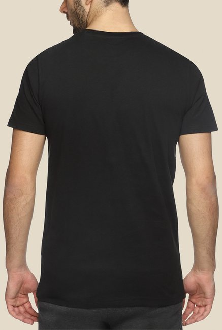 Puma Adrian Johnson Black Graphic T Shirt
