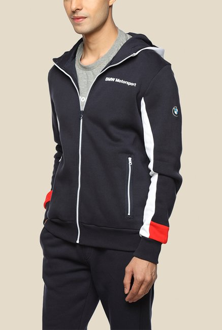 Puma BMW MSP Yesed Black Solid Hoodie