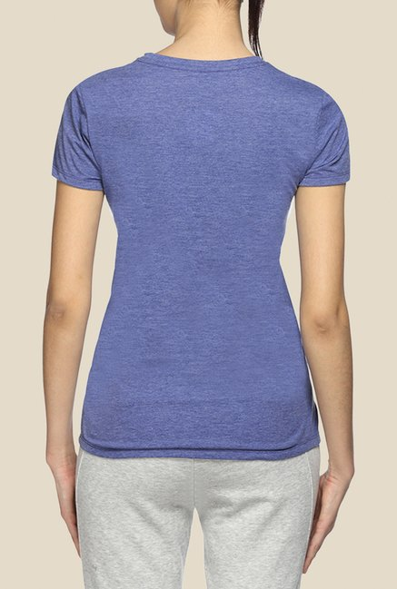 Puma Blue Graphic T Shirt
