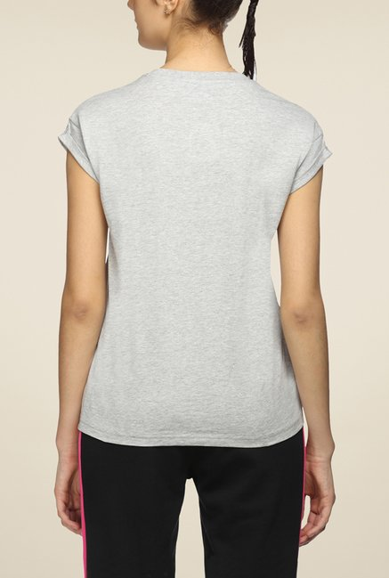 Puma Grey Graphic T Shirt