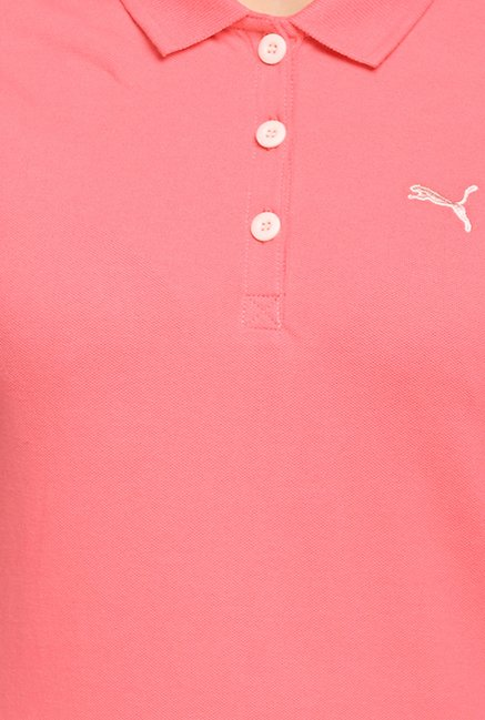 Puma ESS Peach Polo T Shirt