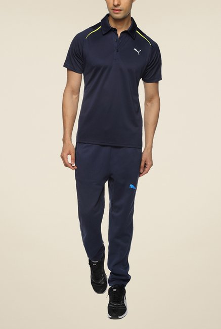 Puma IT evoTRG Navy Solid T Shirt