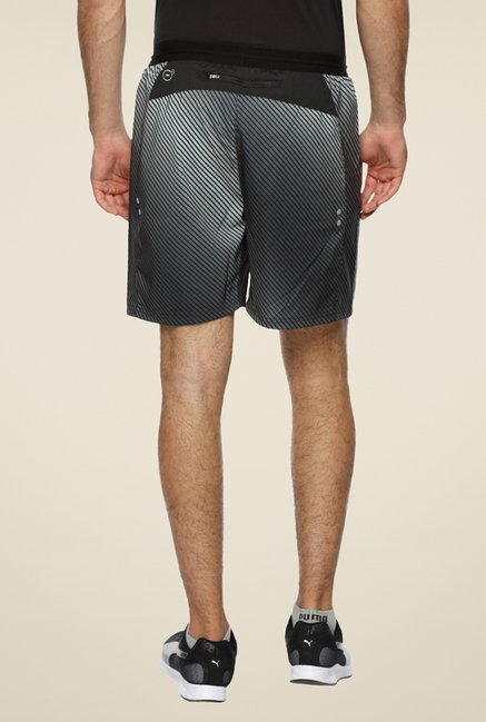 Puma Pace Black Striped Shorts