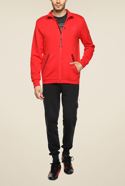 Puma Ferrari Red Solid Jacket