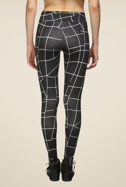 Puma Evo Grid Black Printed Trackpant