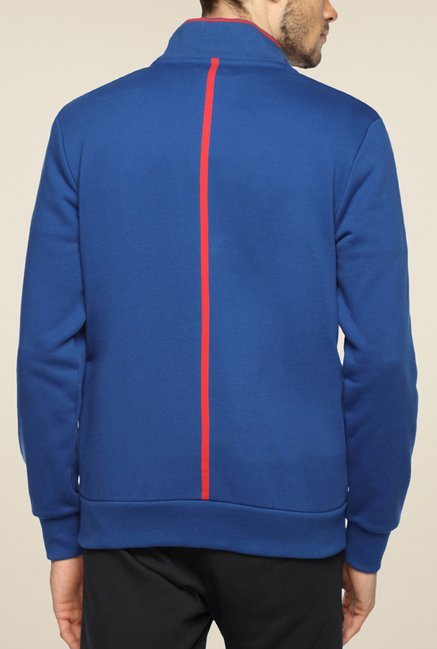 Puma Ferrari Blue Solid Jacket