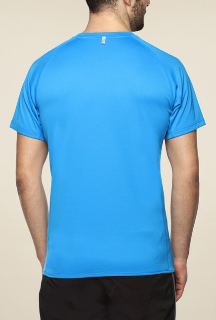 Puma Blue Striped T Shirt