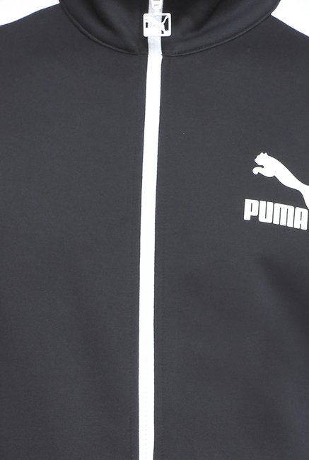 Puma T7 Track Black Solid Jacket