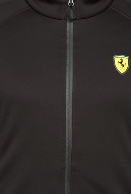 Puma SF Softshell Black Solid Jacket