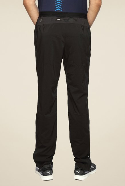 Puma Black Solid Trackpant