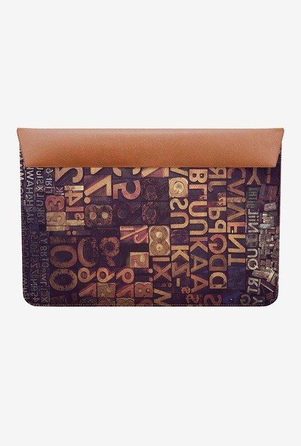 DailyObjects Typecase Hrxtl MacBook Air 11 Envelope Sleeve