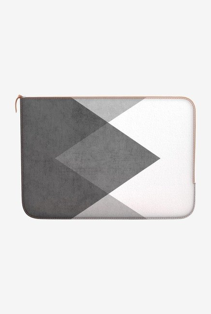 DailyObjects Triangle MacBook 12 Leather Zippered Sleeve
