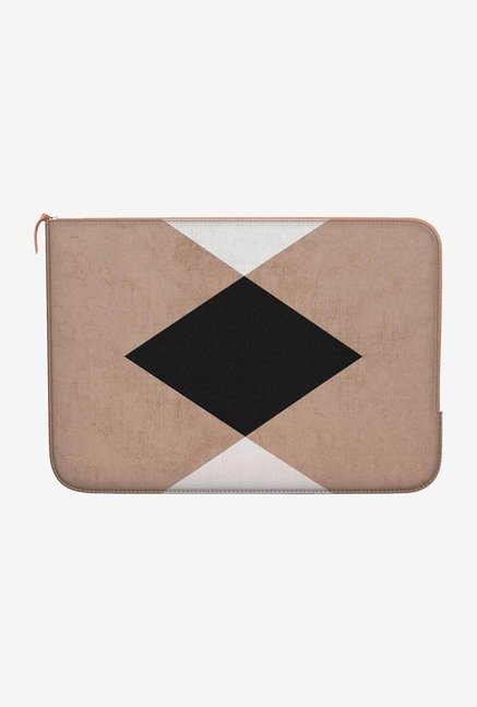 DailyObjects Triangles MacBook 12 Zippered Sleeve