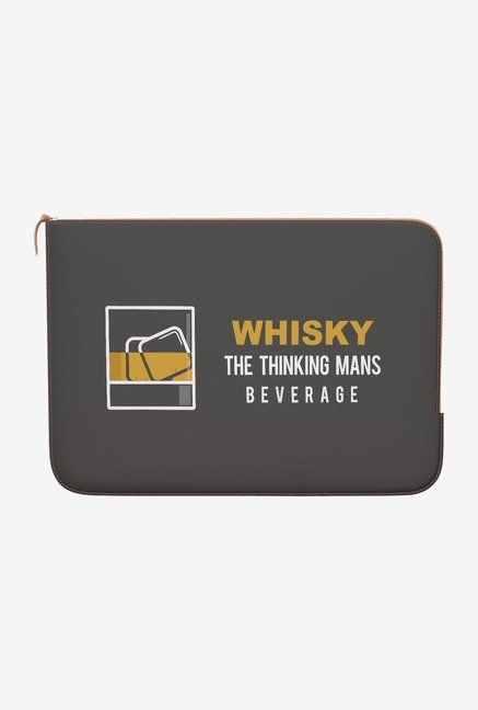 DailyObjects Whisky MacBook Pro 13 Zippered Sleeve